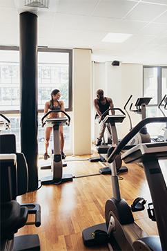 OTTO Greenpoint Luxury Apartments Gym