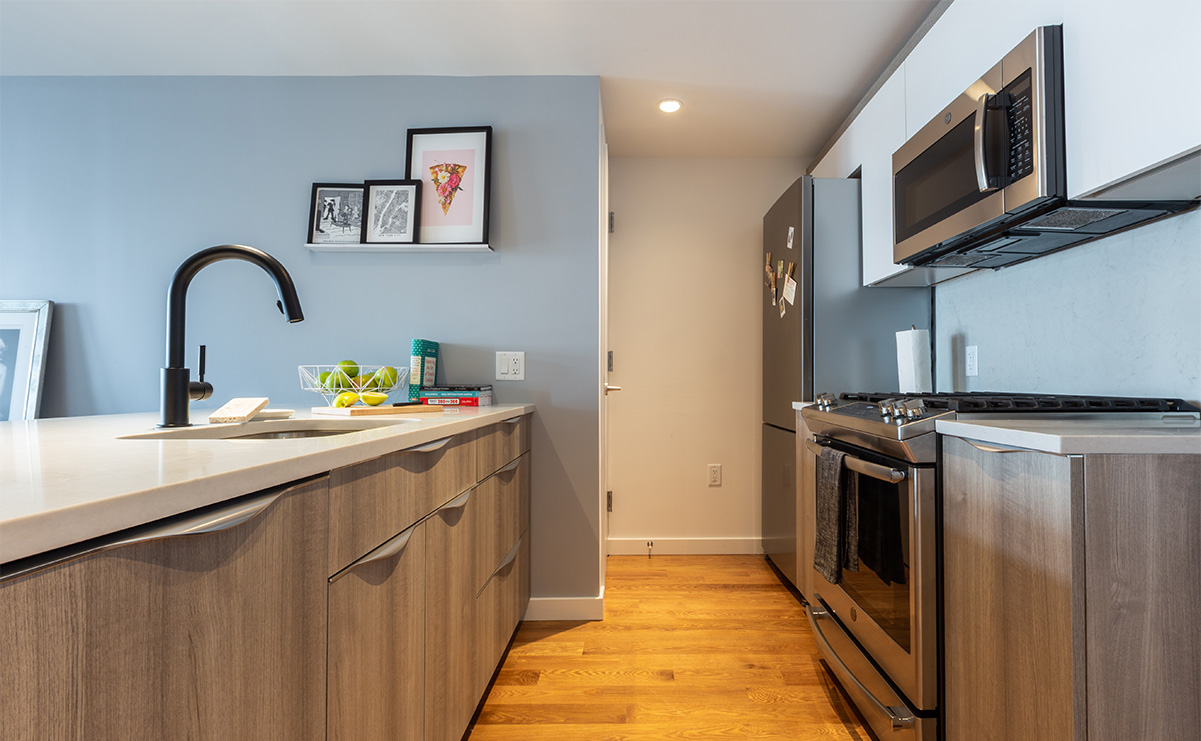 OTTO Greepoint Luxury Apartments Kitchen